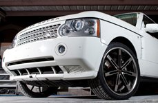 BLAQUE DIAMOND® - BD-7 Black with Machined Face and SS Lip on Land Rover Range Rover Sport