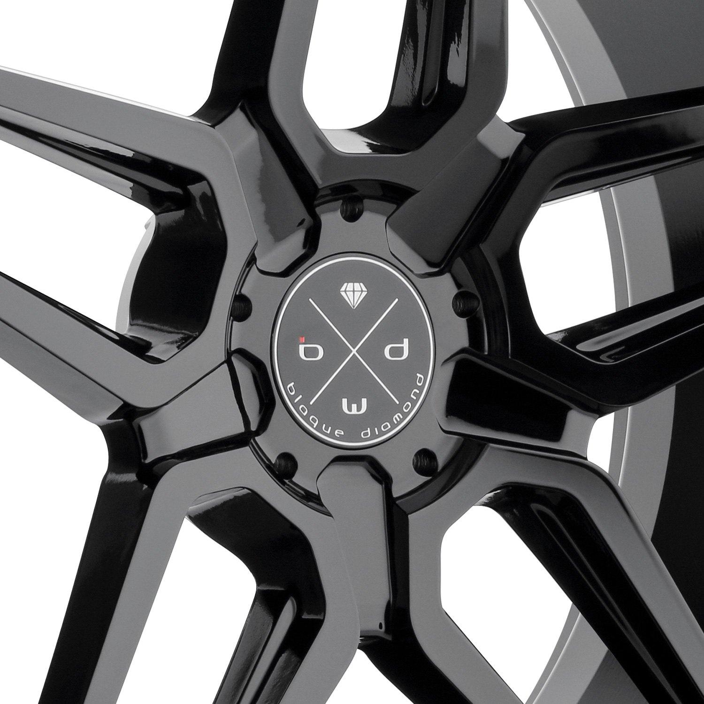 shop machined jaguar wheels new bd rims fit blaque four diamond