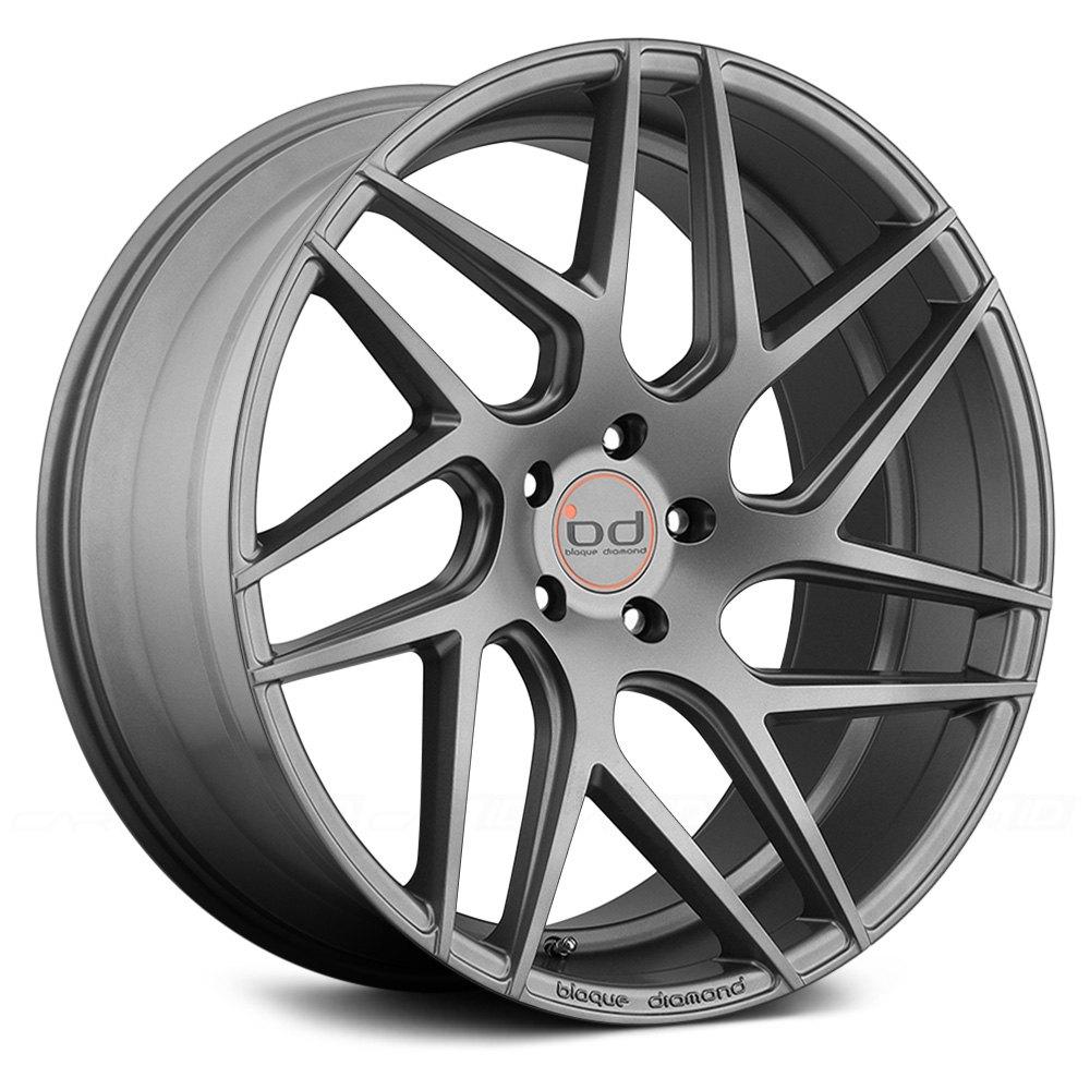 Blaque Diamond 174 Bd 3 Wheels Matte Graphite Rims