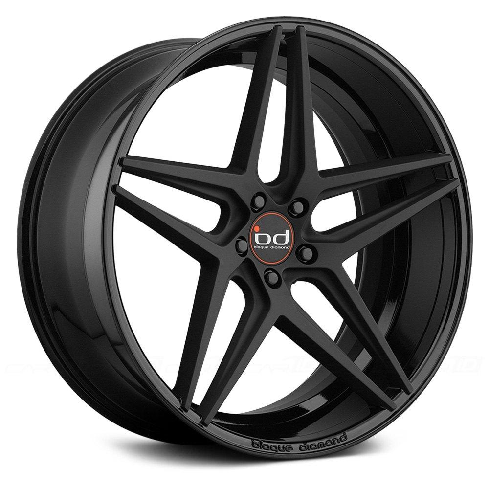 Blaque Diamond 174 Bd 8 Wheels Matte Black With Gloss Black