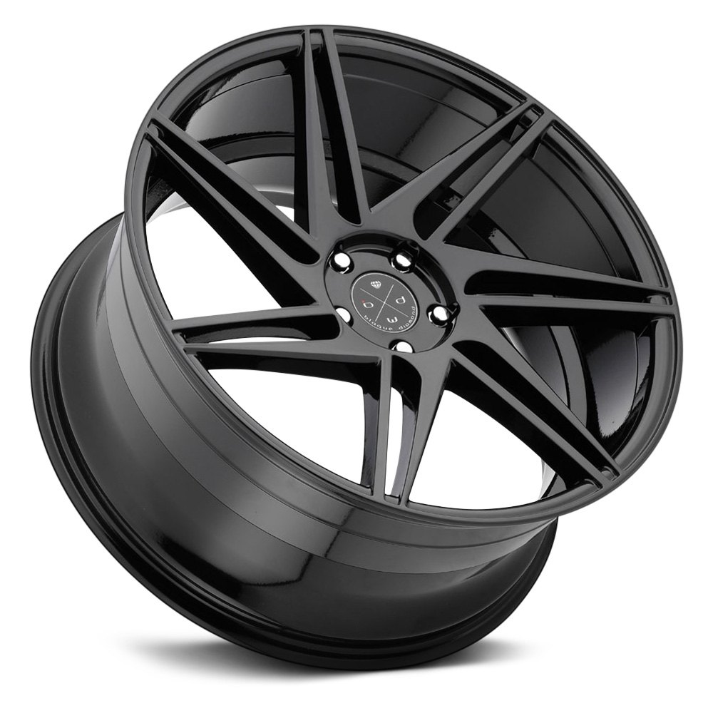 Blaque Diamond 174 Bd 1 Wheels Gloss Black Rims