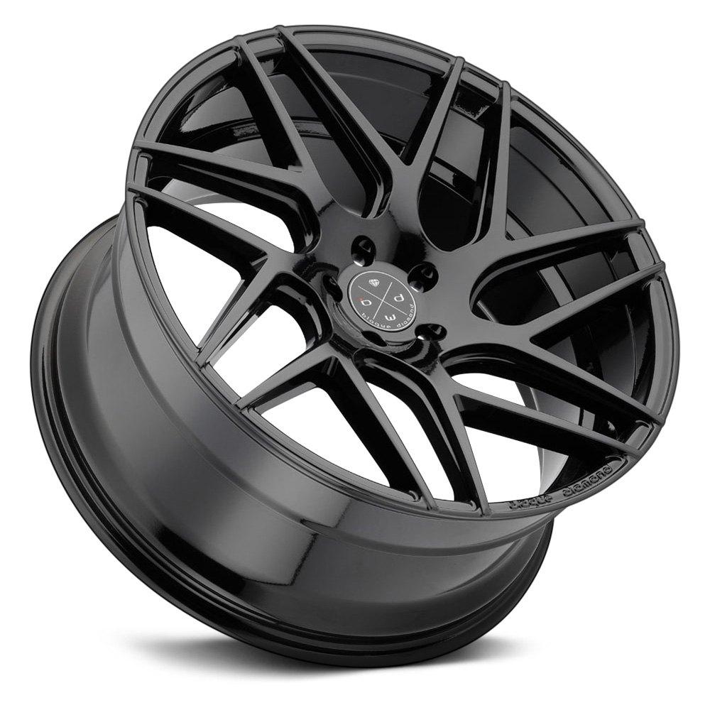 Blaque Diamond 174 Bd 3 Wheels Gloss Black Rims