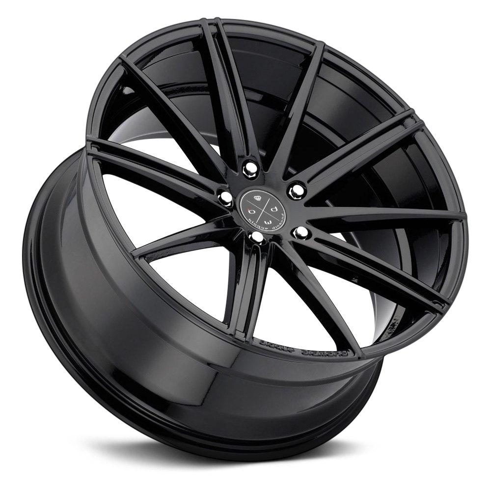 Blaque Diamond 174 Bd 9 Wheels Gloss Black Rims