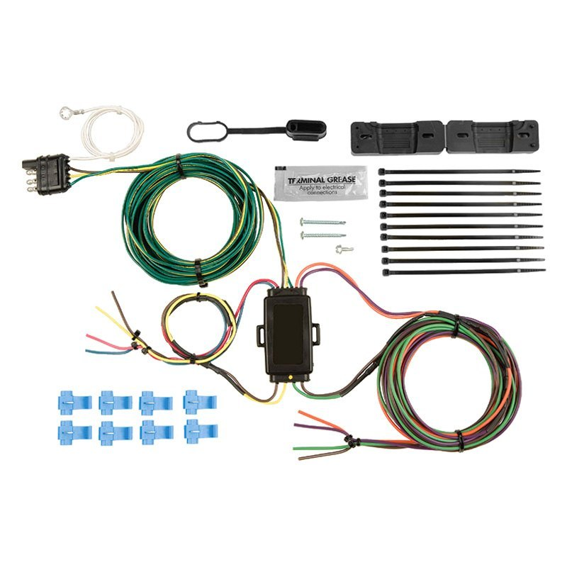 Universal Wiring Harness Reviews : Blue ox bx ez universal light wiring harness kit