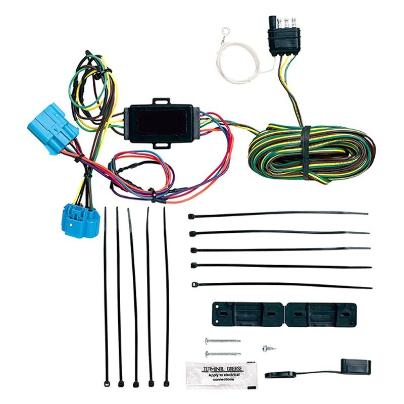 blue light wiring harness 68 chevy tail light wiring harness blue ox® bx88317 - ez light wiring harness #14