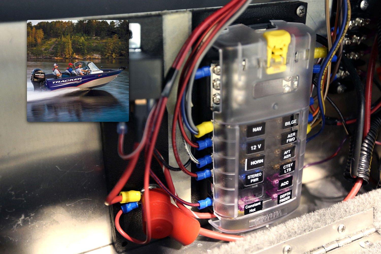 blue sea systems 5026 12 circuit 10 stud negative 10. Black Bedroom Furniture Sets. Home Design Ideas