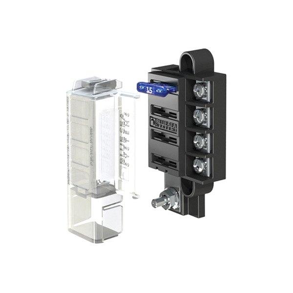Blue Sea Systems® 5045 - Fuse Block- 4 Circuit Common Source