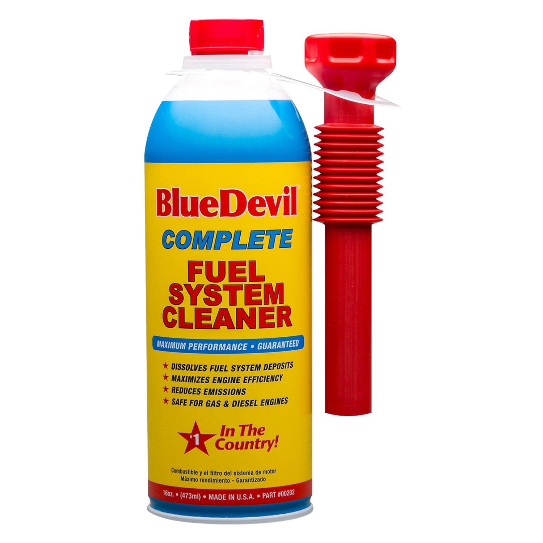 BlueDevil® 00202 - 16 oz Complete Fuel System Cleaner