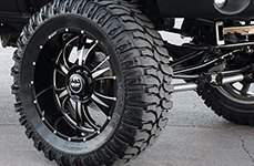 BMF® - M-80 Death Metal Black on Dodge Ram