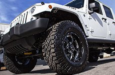 BMF® - NOVAKANE 5 Death Metal Black on Jeep Wrangler