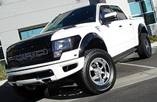 BMF® - NOVAKANE 6 Death Metal Black on Ford F-150