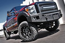 BMF® - NOVAKANE 8 Death Metal Black on Ford F-150