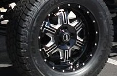 BMF® - S.E.R.E. Death Metal Black on Ford Bronco