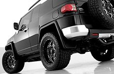 BMF® - S.O.T.A. Death Metal Black on Toyota FJ Cruiser