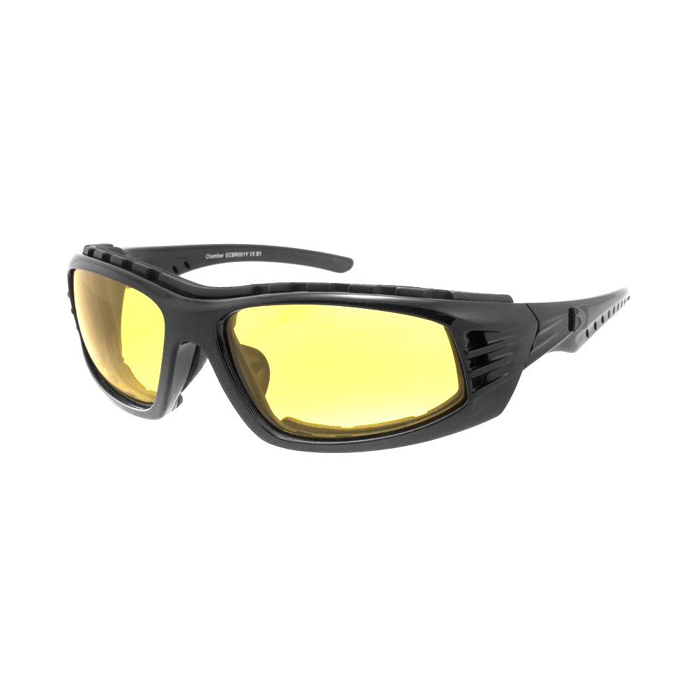 Yellow Frame Sunglasses : Bobster ECBR001Y - Chamber Sunglasses, Black Frame with ...