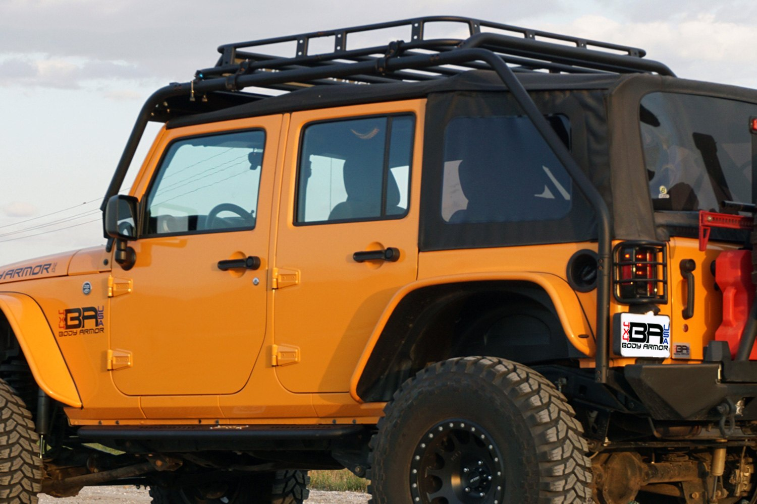 ... Armor®   Overland Knuckle Joint Roof Rack ...