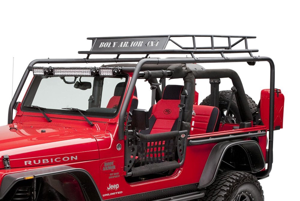 Body Armor 4x4 174 Tj 6124 2 Roof Rack Side And Cross Tubes