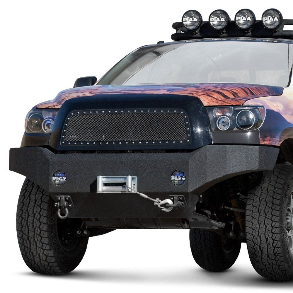 Body armor 4x4 toyota tundra 2007 2013 full width black for Musictown motor cars tennessee