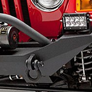 Body Armor® - Steel Front Winch Bumper