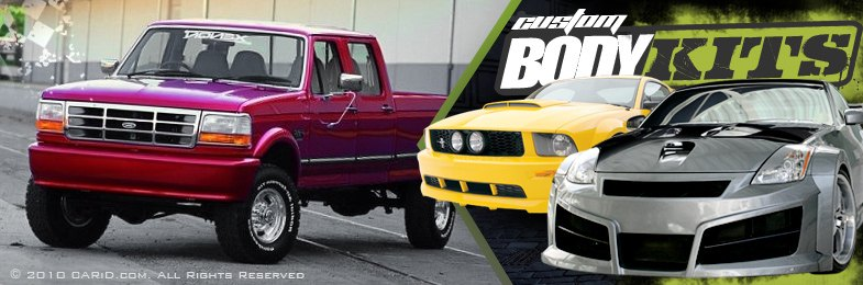 Ford Bronco Body Kits - 1994