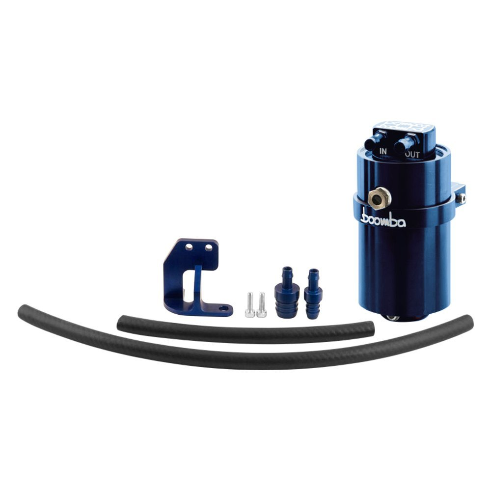 boomba racing 022 00 018blue stage 1 oil catch can kit. Black Bedroom Furniture Sets. Home Design Ideas