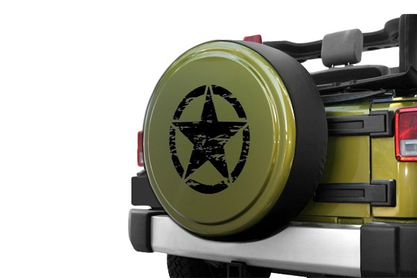Boomerang 174 Jeep Wrangler 2016 Rigid Series Spare Tire Cover
