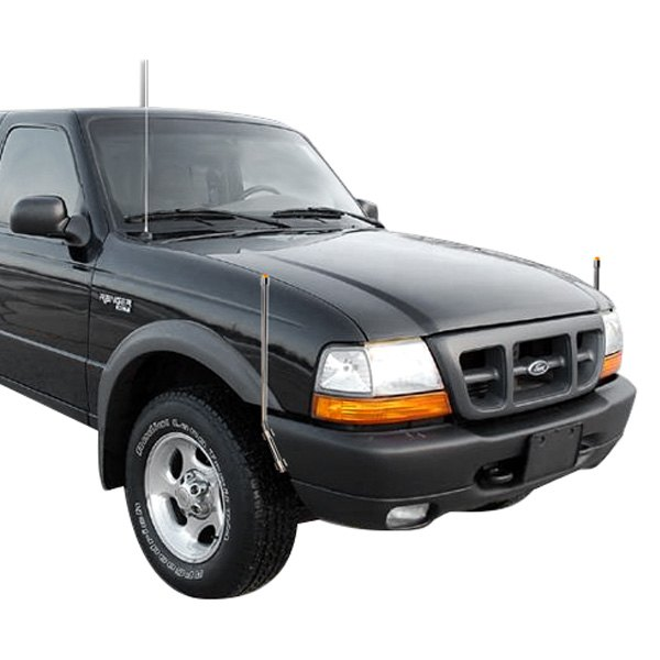 bores ford ranger with factory steel bumper 1995 amber. Black Bedroom Furniture Sets. Home Design Ideas