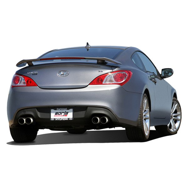 borla hyundai genesis coupe 3 8 3 8 r spec 3 8 ultimate 2015 2016 s type stainless steel. Black Bedroom Furniture Sets. Home Design Ideas
