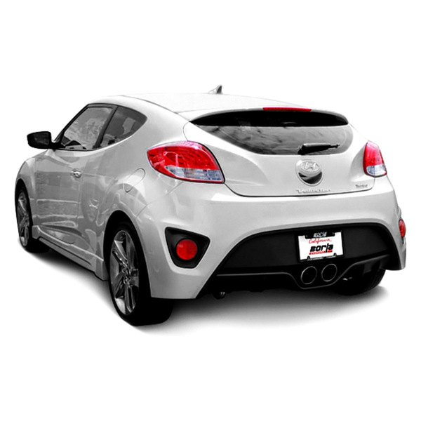 borla hyundai veloster turbo turbo r spec 2015 touring stainless steel cat back exhaust system. Black Bedroom Furniture Sets. Home Design Ideas