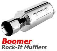 Borla - Boomer Rock It Mufflers
