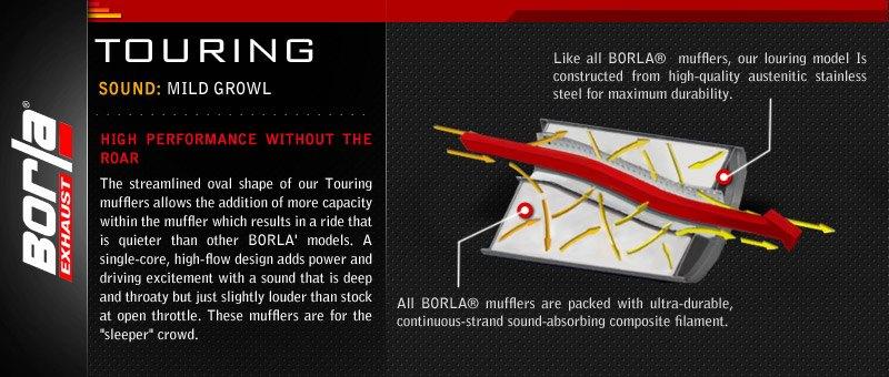 Borla - Touring Series Exhaust System