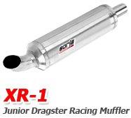 Borla - XR1 Junior Dragster Race Mufflers