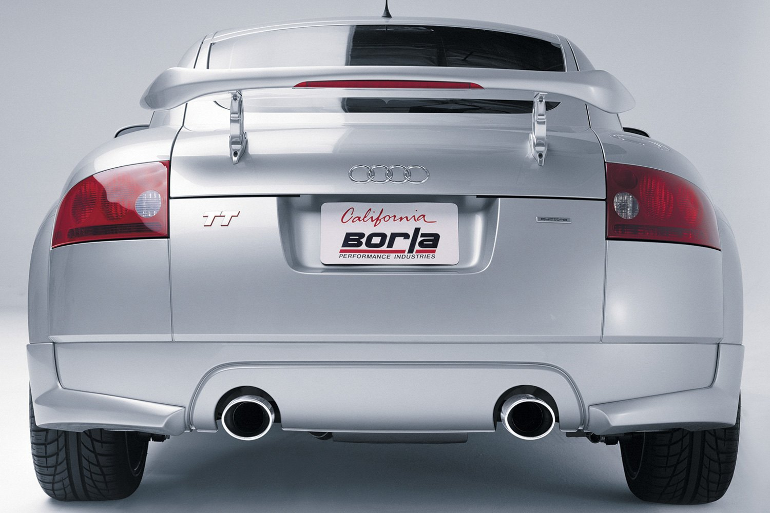 Borla® - S-Type™ Stainless Steel Cat-Back Exhaust System with Split Rear  Exit