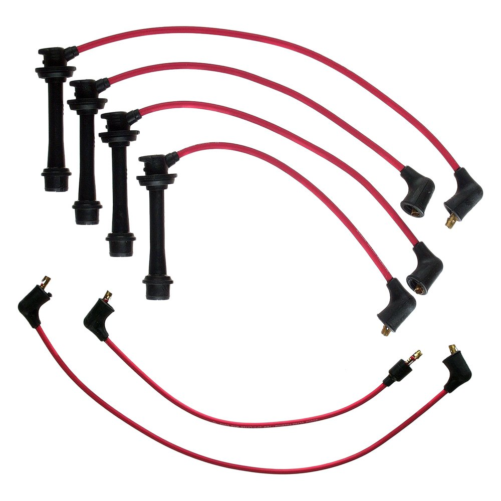 BOSCH Ignition Spark Plug Cable Wire Kit Fits TOYOTA Vios 1.3-1.8L 1992-2008