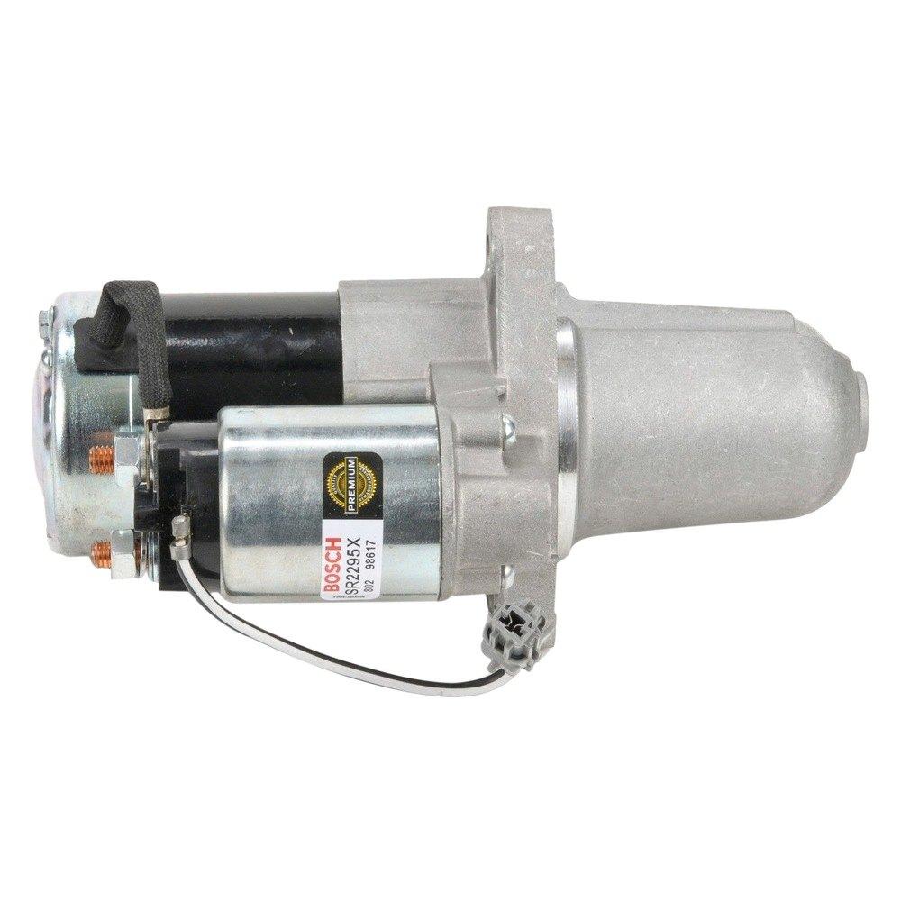 Part 1 2002 2003 3 5l Nissan Maxima Starter Motor Pathfinder Engine Diagram Bosch Remanufactured
