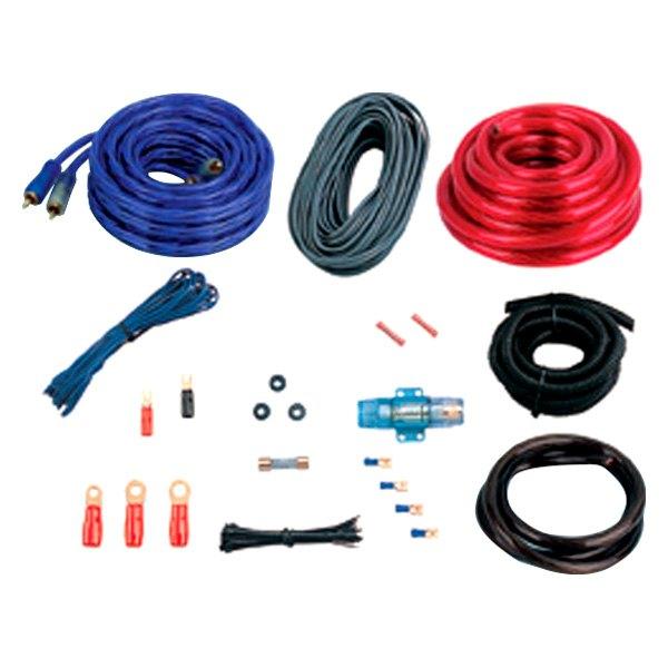 boss® - complete amplifier wiring kit boss audio wiring kit for