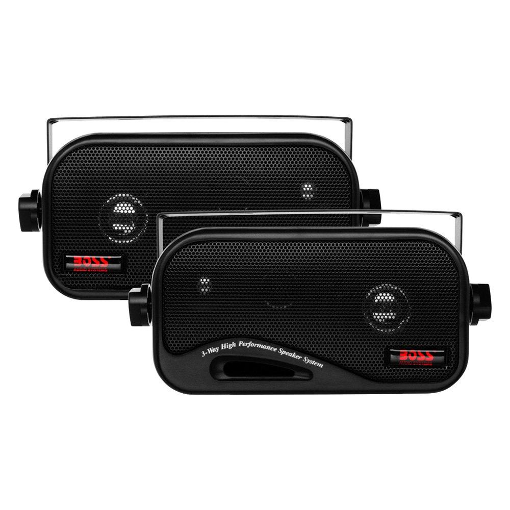 BOSS - 3-Way 160W Surface Mount Speakers
