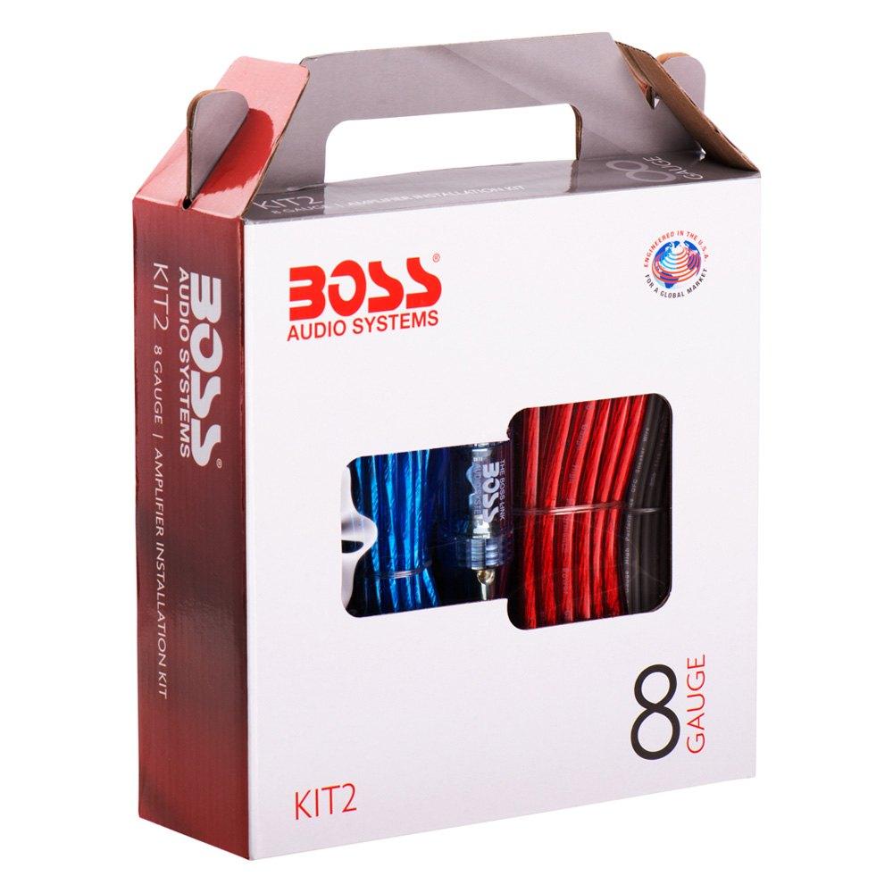 BOSS® - 8 Gauge Amplifier Wiring Kit