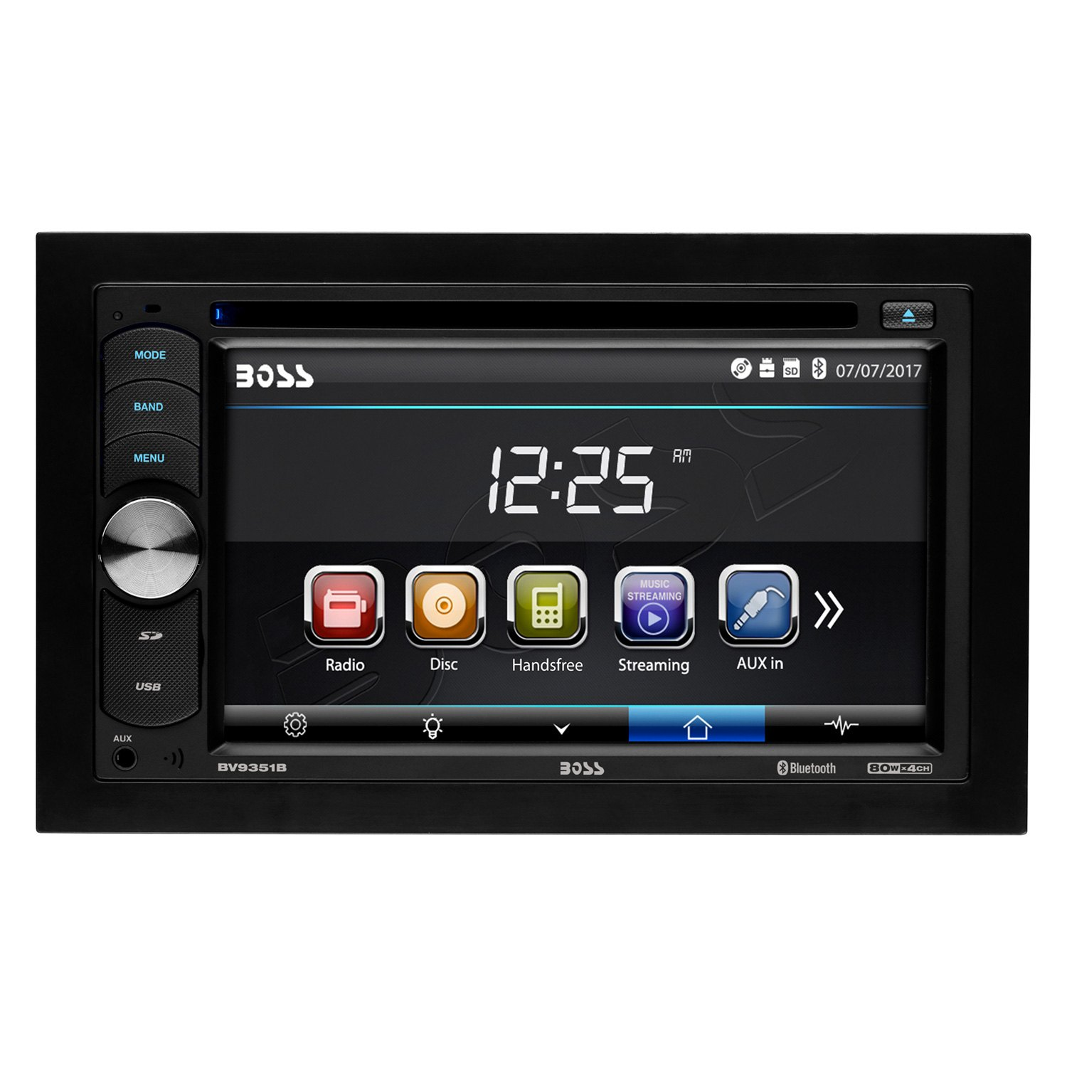 how to connect double din radio