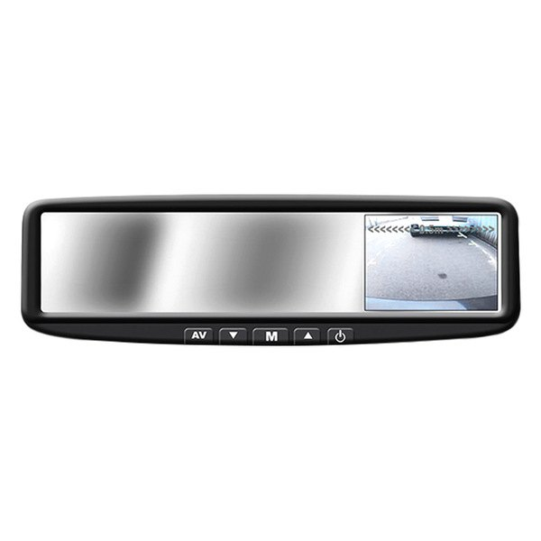 boyo vtb44m rear view mirror with 4 3 digital tft lcd. Black Bedroom Furniture Sets. Home Design Ideas