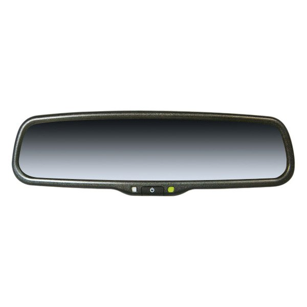boyo vtm35m oe style rear view mirror with built in 3 5. Black Bedroom Furniture Sets. Home Design Ideas