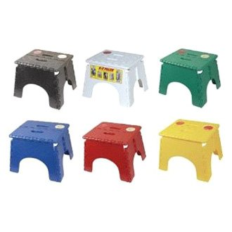 B Amp R Plastics 174 101 6as Asst Ez Foldz Folding Step Stool