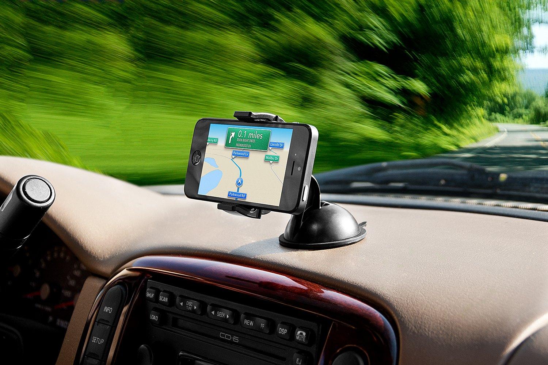 Gps Car Mount: Bracketron® IPM-495-BL