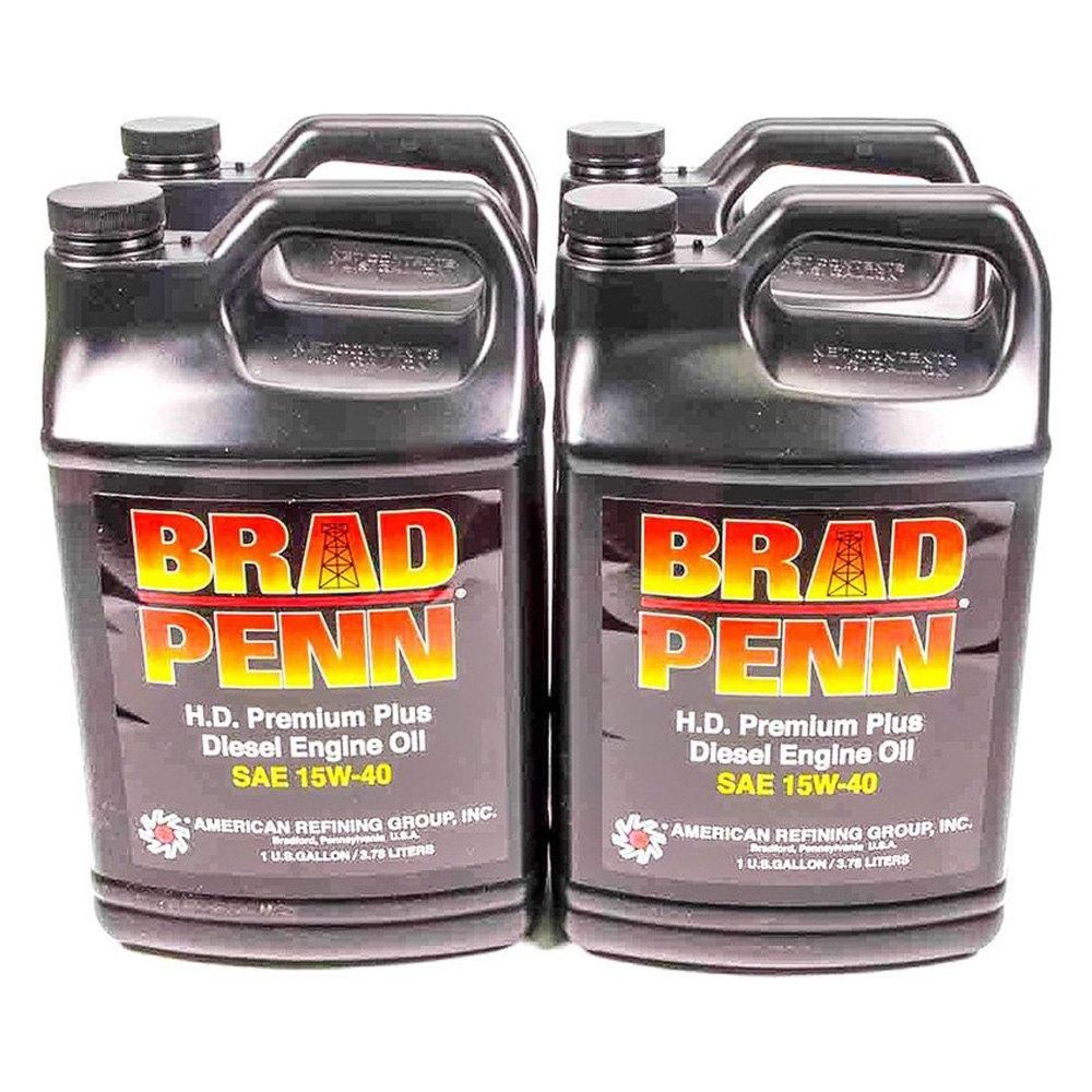Brad Penn 100 7196 H D Premium Plus Sae 15w 40 Diesel