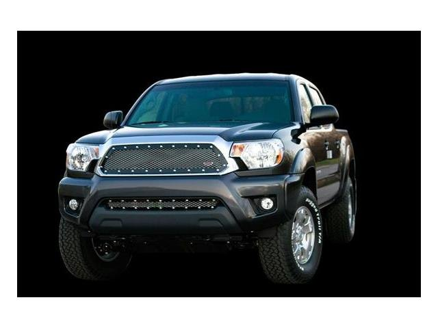 Carriage works toyota tacoma 2012 bumper valance grille for Garage toyota valence