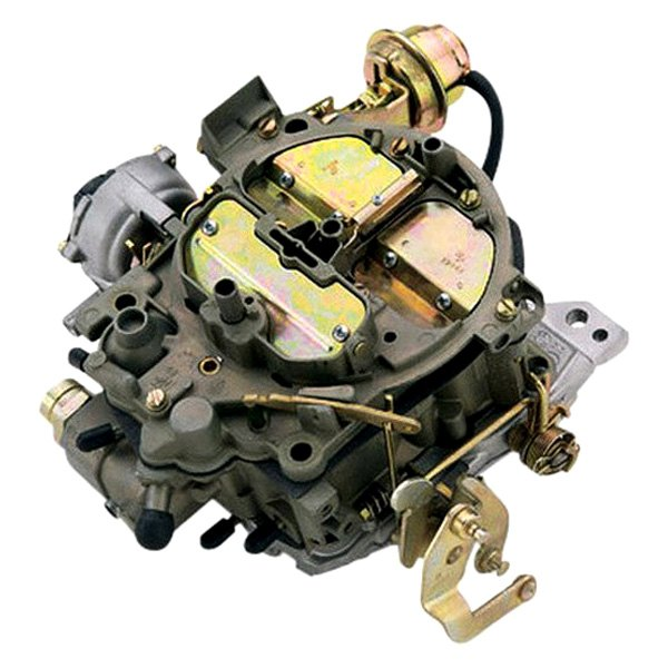 Quadrajet carburetor hook up