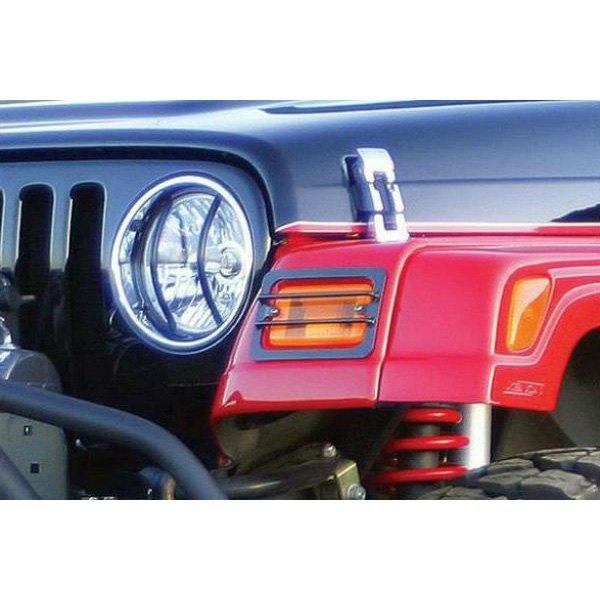 Jeep Wrangler 2007-2017 Headlight Guard Kit