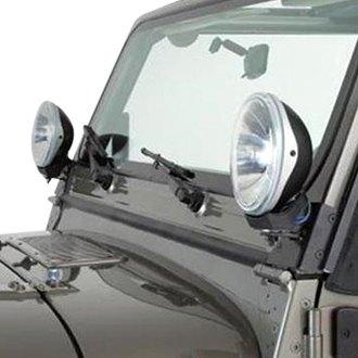 For Jeep Tj 2002 2006 Rampage 7608 Windshield Hinge Light
