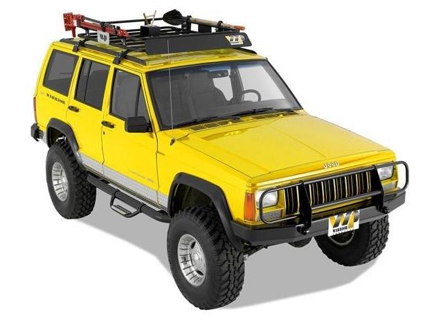 Warrior 174 Jeep Cherokee 1984 2001 Front Bumper