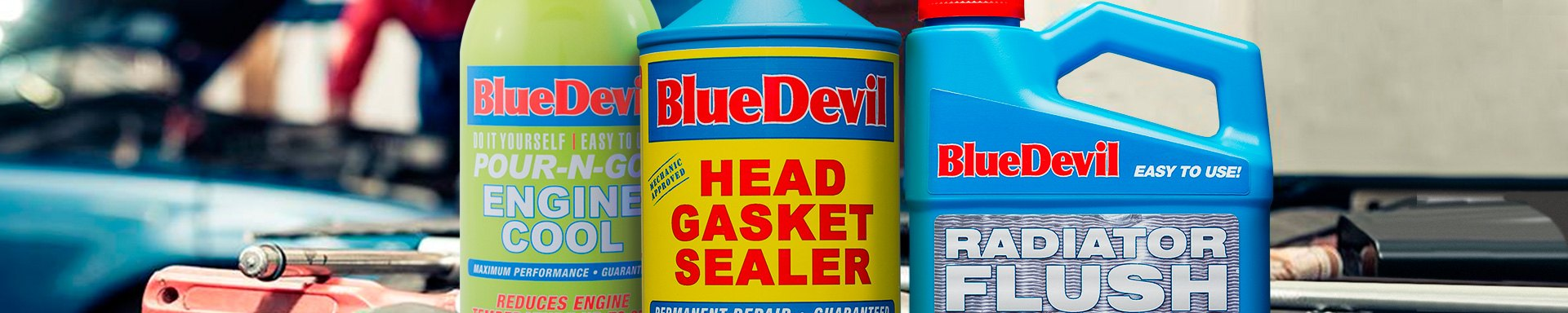 Bluedevil Head Gasket Transmission Radiator Sealers Caridcom